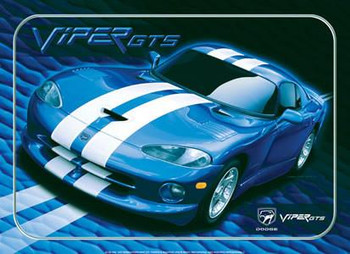 Dodge Viper GTS Metal Sign