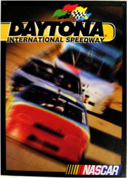 Daytona International Speedway  (disc) Metal Sign
