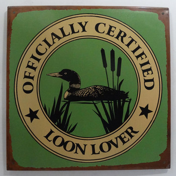 Officially Certified Loon Lover