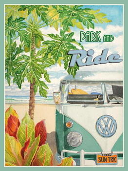Park and Ride / VW Metal Sign