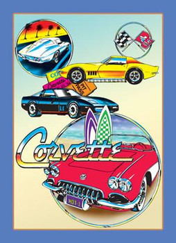 General Motors - Corvette Collage