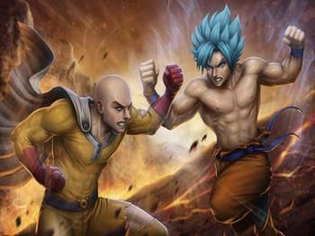 Saitama vs. Goku