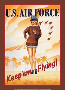 U.S. Air Force Keep 'em Flying