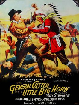 General Custer-Little Big Horn Metal Sign