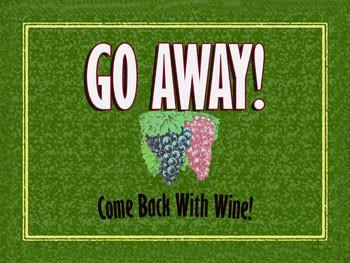 Go Away !