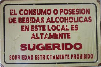Consumption of Alcholic Beverages