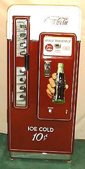 Cavalier CS-72 Coca-Cola Machine