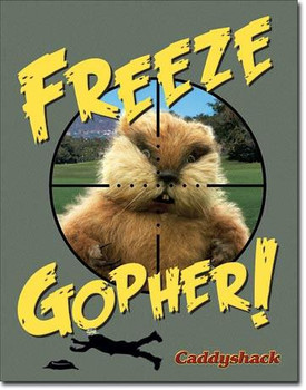 Caddyshack Freeze Gopher (DISC)