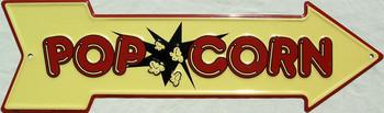 Pop Corn (DISC) Metal Sign