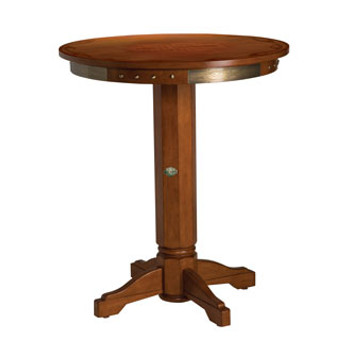 H-D® Bar & Shield Flames Pub Table & Backrest Stoo