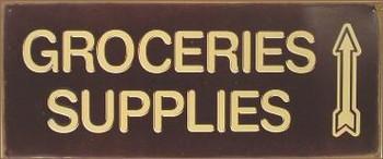 Groceries Supplies