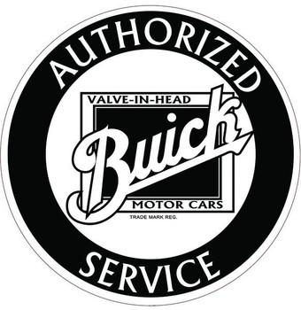 """Buick 12"""" disc B/W"""