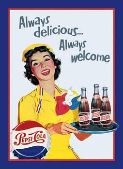 Pepsi  Always Delicious...