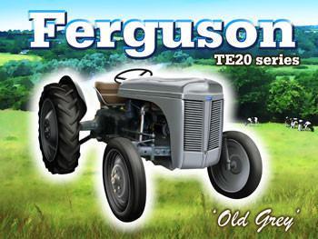 Ferguson Tractor Metal Sign
