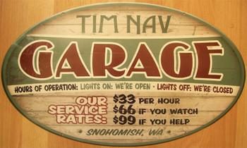 Garage (oval)