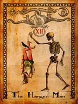 Hanged Man-Tarot Metal Sign