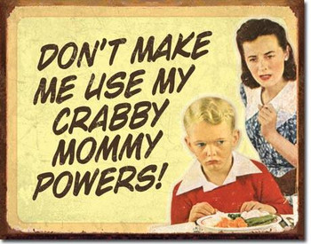 Crabby Mommy Powers (disc)