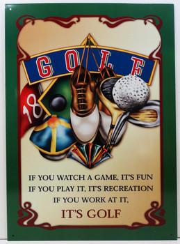 It's Golf