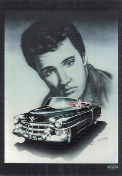 Elvis / Cadillac Metal Sign