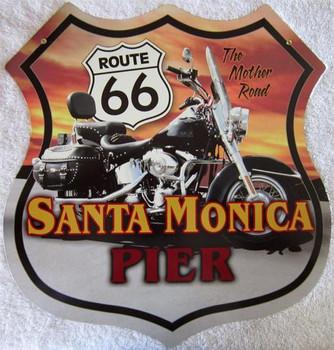 Santa Monica Pier/Moorcycle Shield