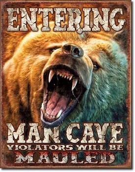 Entering Man  Cave