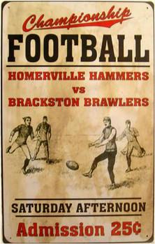 Football Admission 25c