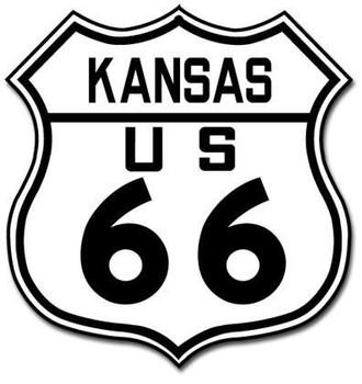 Route 66 Kansas Shield