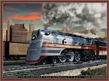 Milwaukee Road Hiawatha 1938
