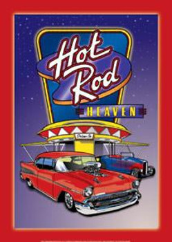 Air Waves-Hot Rod Haven Metal Sign