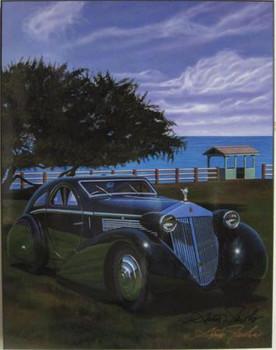 1934 Rolls Royce Jonkheere Round Door Aero