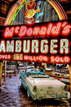McDonald's Hamburger Drive In