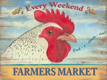 Farmer's Market Rooster