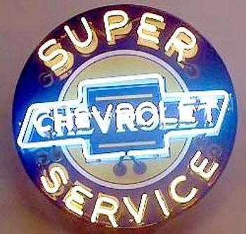 Chevrolet Advertising Neon 1