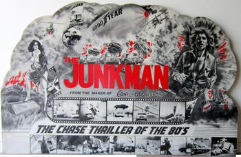 """Junkman Lobby Board 1980 75"""" by 48"""""""