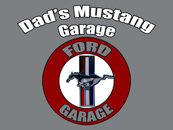 Dad's Mustang Garage