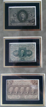 5c-10c-25c Fractional Currency