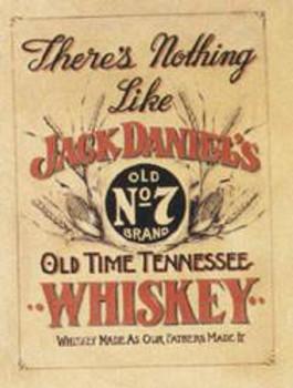 Jack Daniels - Nothing Like Metal Sign
