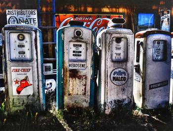 Rustic Gas Pumps