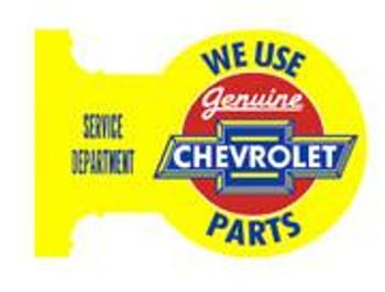 Chevrolet Flange Sign