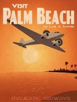 Palm Beach Metal Sign