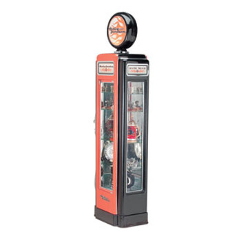 H-D® Super Premium Gas Pump Display Case