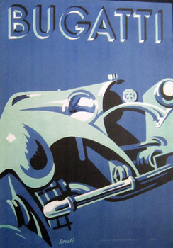Bugatti Racing Canvas