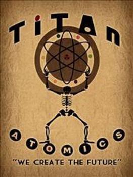 Titan-Create The Future Metal Sign
