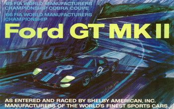 Ford GT MK ll Metal Sign