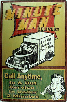 Minute Man Delivery