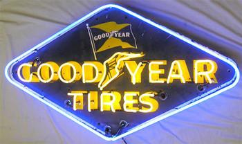 Good Year Tires Advertising Neon