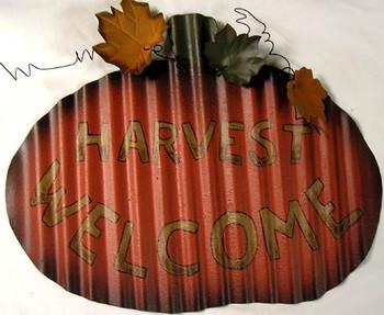 Harvest Welcome Pumkin