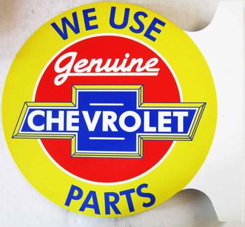 Genuine CHEVROLET Parts Flange Sign