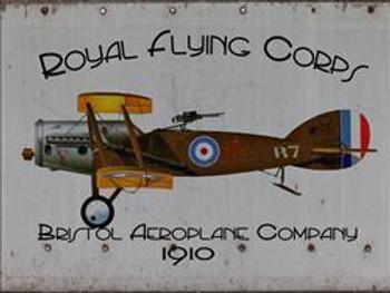 Royal Flying Corps Metal Sign