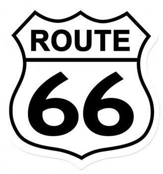 Route 66 Shield (XLarge)